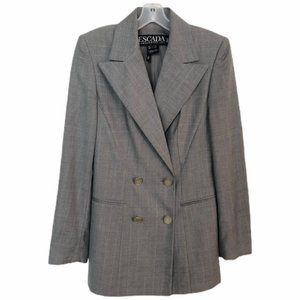 Ermenegildo Zegna Superfine Wool Jacket For Escada